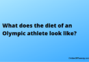 What does the diet of an Olympic athlete look like?