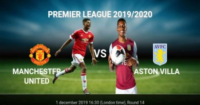 Man United vs Aston Villa | Premier League 1 December 2019 Gameplay