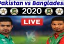 Pakistan vs Bangladesh Live Match-PAK vs BAN 1st T20 Live