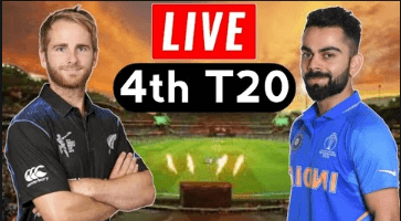 India vs New Zealand 4th T20 live-IND vs NZ LIVE