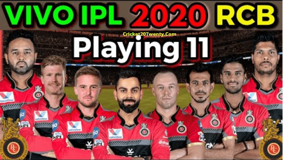 IPL 2020 best playing 11 for Royal Challenge Bangalore-IPL 13