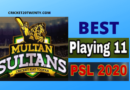 PSL 2020 Best playing 11 for Multan Sultan-PSL 5
