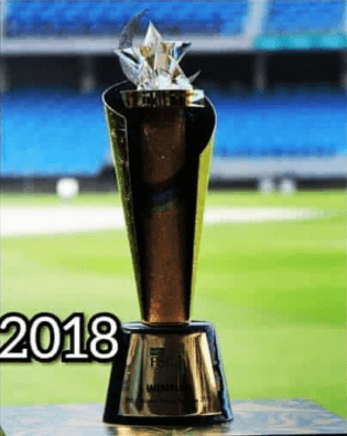 Pakistan Super League 2018 Trophy