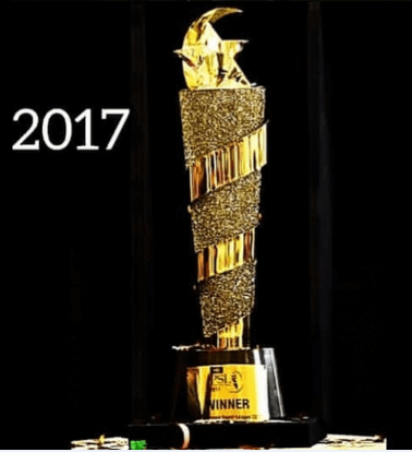 Pakistan Super League 2017 Trophy