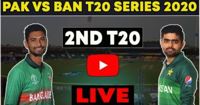 Pakistan vs Bangladesh 2nd T20 Live Match-Live Match PAK vs BAN