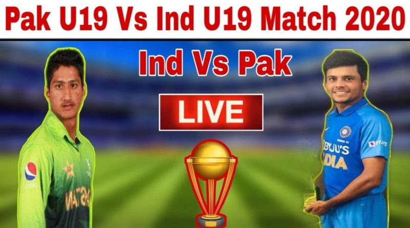 Pakistan vs India U19CWC 2020 Semi Final Live-PAK vs IND Live