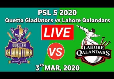 PTV Sports Match Live-PSL Live Score-PSL Today Match-LQ vs QG