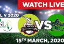 PTV Sports Live Streaming-PSL Live Score-PSL Today Match MS vs LQ