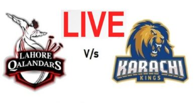 PTV Sports Live Streaming-Lahore Qalandars vs Karachi Kings Live
