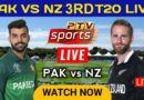 Pakistan Vs New Zealand 3RD T20 Live Match | PAK vs NZ 3RD T20 Live Streaming | Pak vs Nz Live