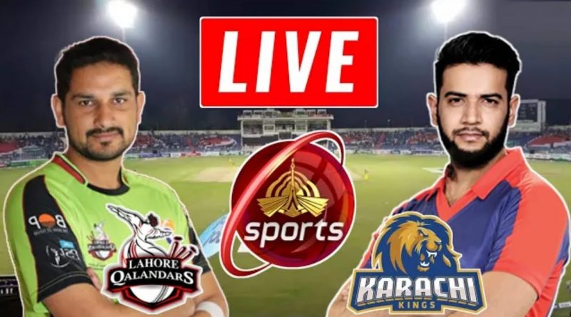 PTV Sports Live Streaming-PSL Live Score-PSL Today Match LQ vs KK