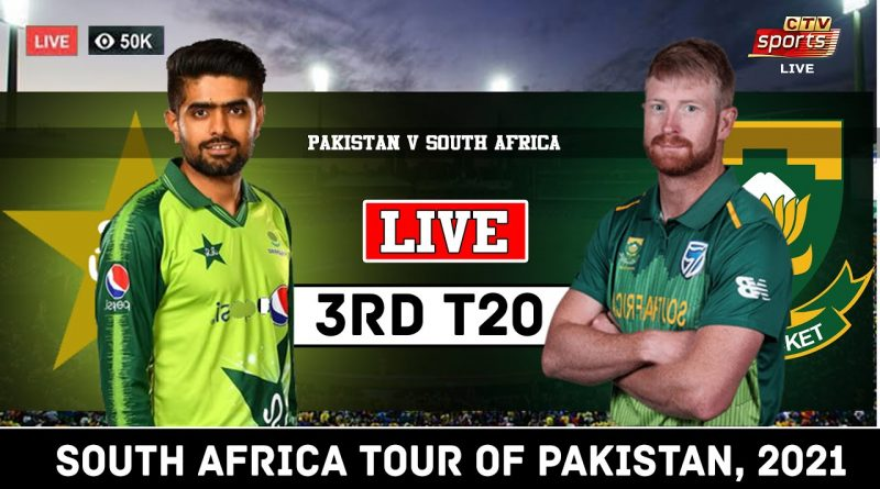 PTV Sports Live Streaming-Pakistan vs South Africa Live