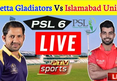 PTV Sports Live Streaming-PSL Live Score-PSL Today Match QG vs IU
